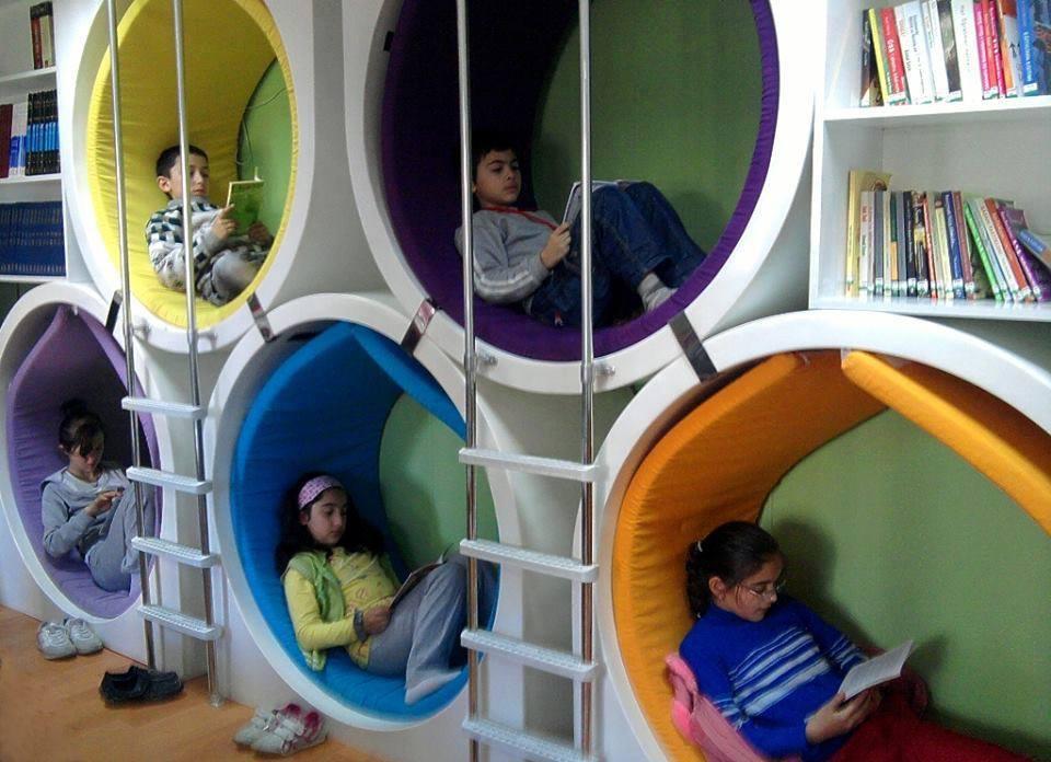 çocuk kütüphaneleri